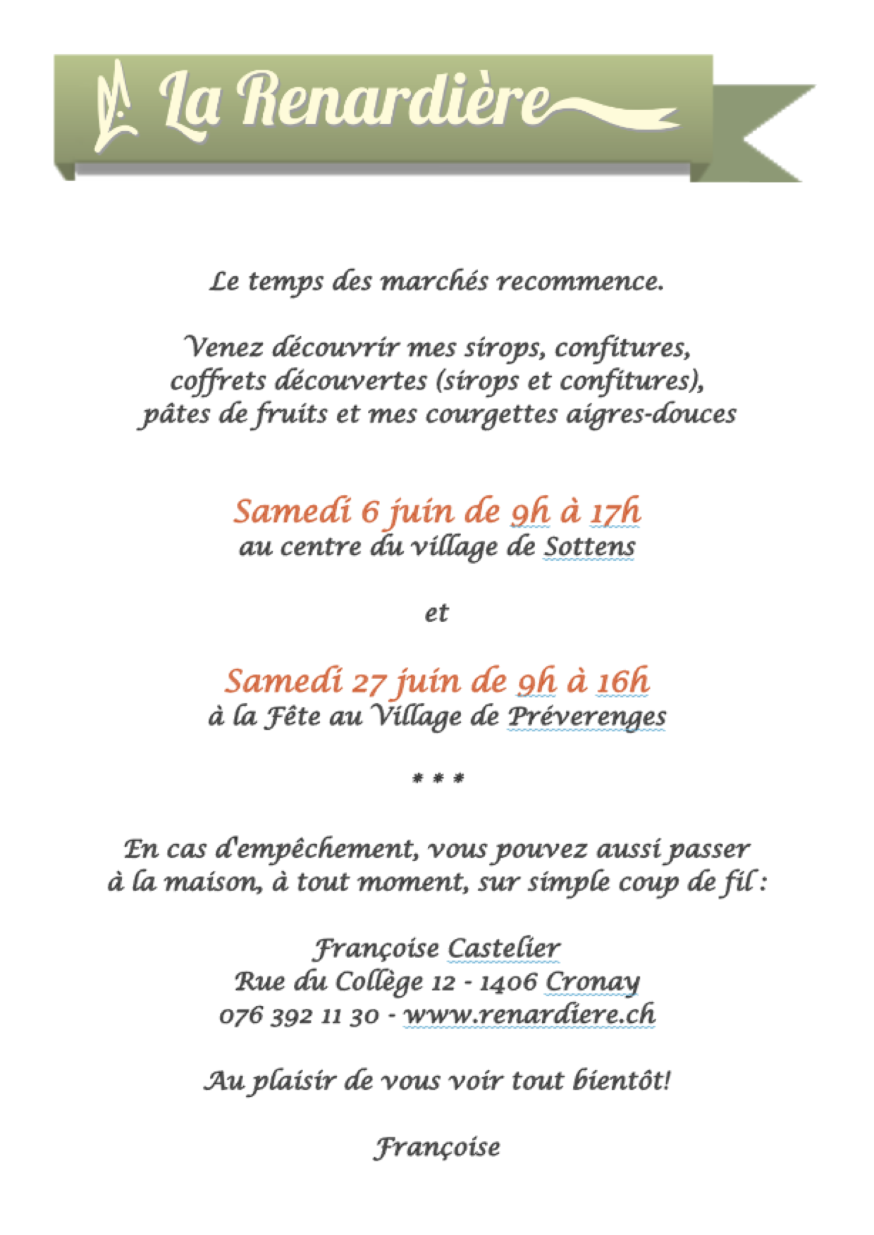 Flyer Sottens Préverenges 2015