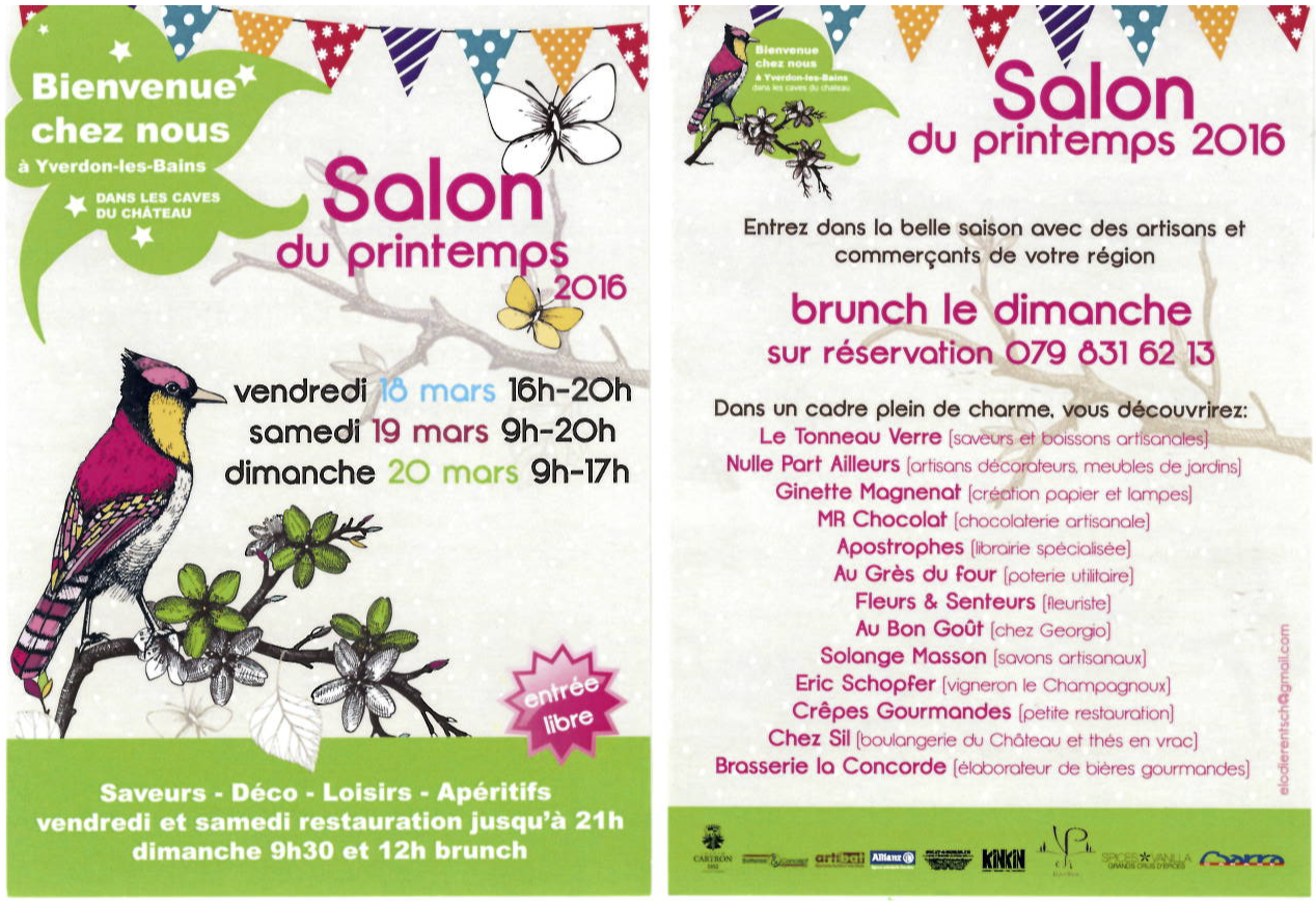 Flyer Salon du printemps